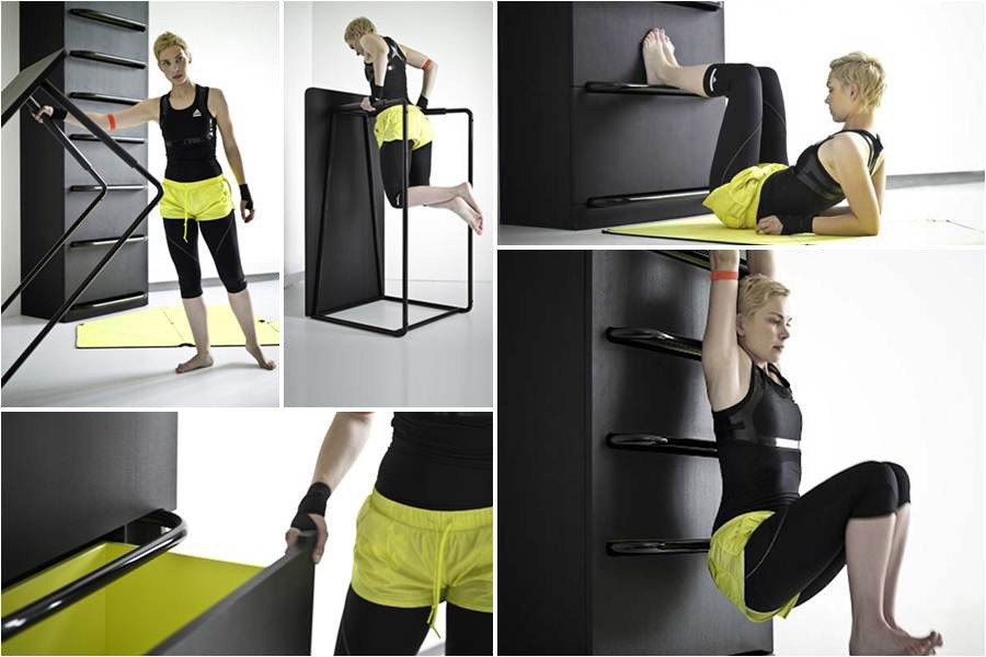 Exceptionnel Functional Home Gym Equipment Furniture