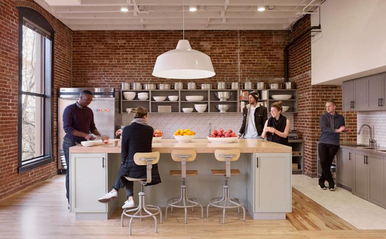 Airbnb Office Kitchen Design. U201c