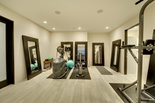 Another Home Gym Design Idea Is To Install Wall Bars That Are Matching Your  Interior Style. Any Modern Version Of A Wall Based Exercise Equipment Is  Highly ...