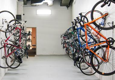 Wellness Strategy Bicycle Storage